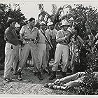 Nestor Paiva, Carol Thurston, and Johnny Weissmuller in Killer Ape (1953)