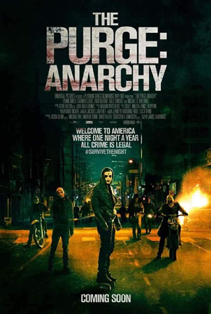 The Purge Anarchy 2014 Dual Audio Hindi 720p HDRip
