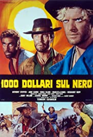 $1,000 on the Black (1966) Poster - Movie Forum, Cast, Reviews