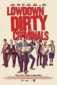 Rebecca Gibney, Robbie Magasiva, Scott Wills, Cohen Holloway, James Rolleston, Min Kim, Samuel Austin, and Olivia Morphew in Lowdown Dirty Criminals (2020)