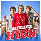 Sebastian Jessen, Julie Zangenberg, Thomas Ernst, Julie Christiansen, and Casper Harding in Hedensted High (2015)