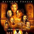Brendan Fraser, John Hannah, Rachel Weisz, Oded Fehr, Dwayne Johnson, Patricia Velasquez, and Arnold Vosloo in The Mummy Returns (2001)