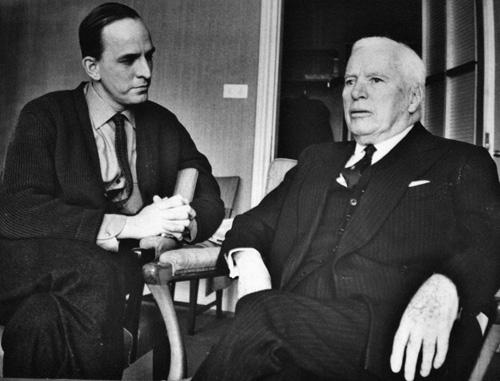 Ingmar Bergman and Charles Chaplin
