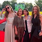 Anna Chipovskaya, Natalya Pavlenkova, and Katerina Mikhaylova at an event for Konferentsiya (2020)