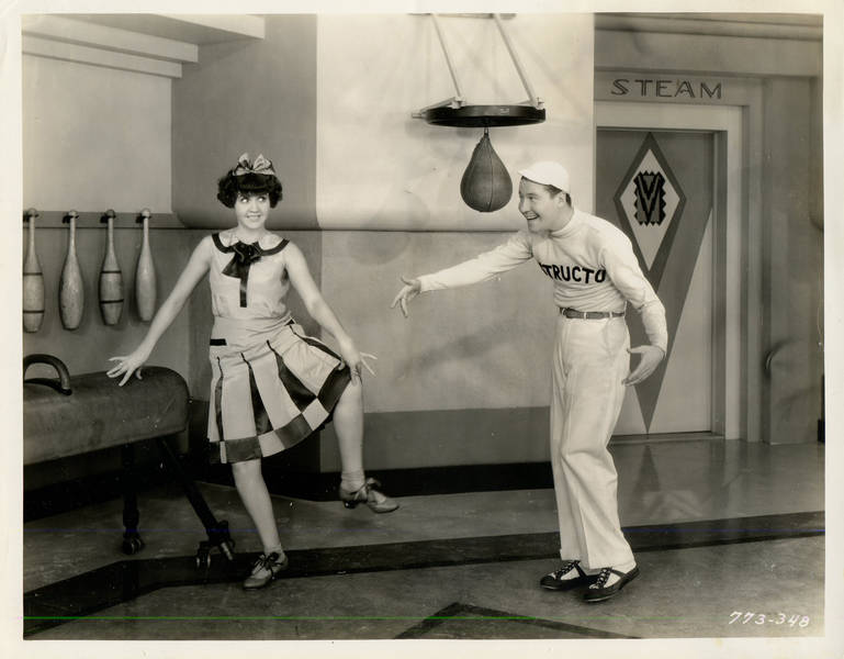 Helen Kane and Jack Oakie in Paramount on Parade (1930)