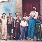 Akbar Abdi, Ali Hatami, and Mahmood Lotfi in Madar (1990)