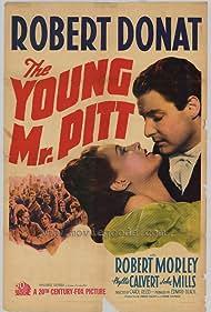 Phyllis Calvert and Robert Donat in The Young Mr. Pitt (1942)
