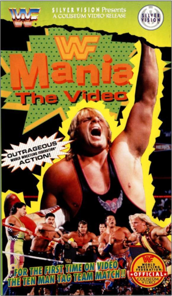 Owen Hart in WWF Mania (1994)