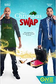 Dondré T. Whitfield and Christian Keyes in The Christmas Swap (2016)
