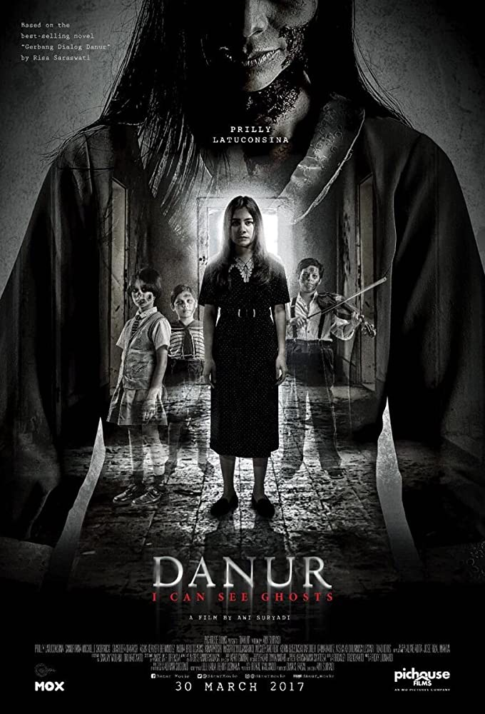 Poster film 'Danur: I Can See Ghosts'