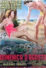 Anna Baldini and Franco Interlenghi in Domenica d'agosto (1950)