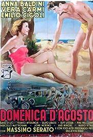 Domenica d'agosto(1950) Poster - Movie Forum, Cast, Reviews