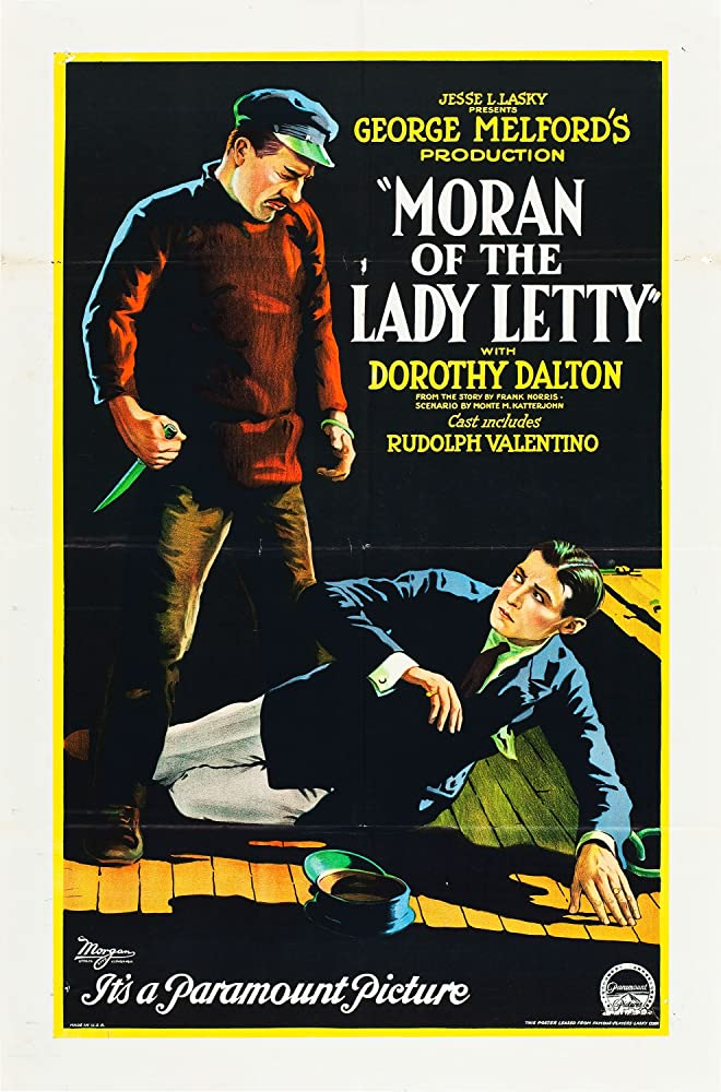 Emilius Jorgensen and Walter Long in Moran of the Lady Letty (1922)