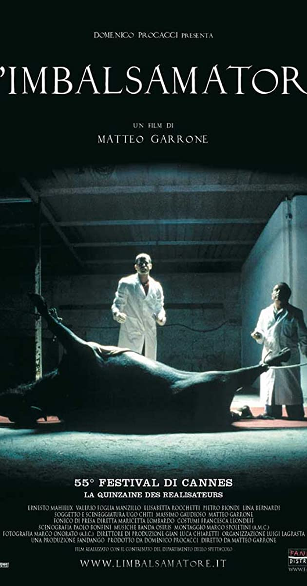 Subtitle of The Embalmer