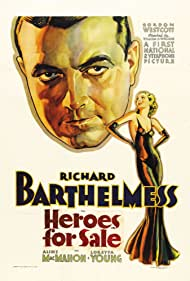 Richard Barthelmess and Loretta Young in Heroes for Sale (1933)