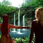 Jeri Ryan and Autumn Reeser in Star Trek: Voyager (1995)