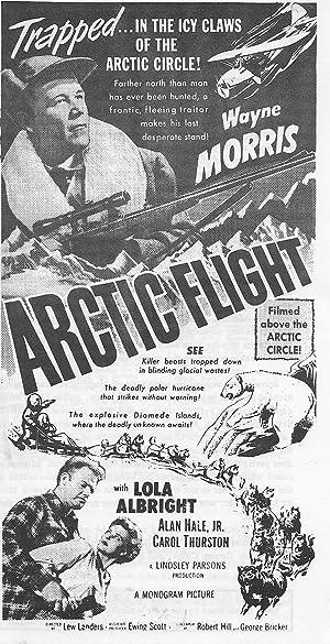Lew Landers Arctic Flight Movie