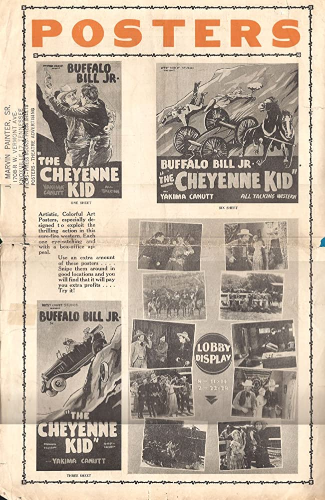 The Cheyenne Kid Poster Image One