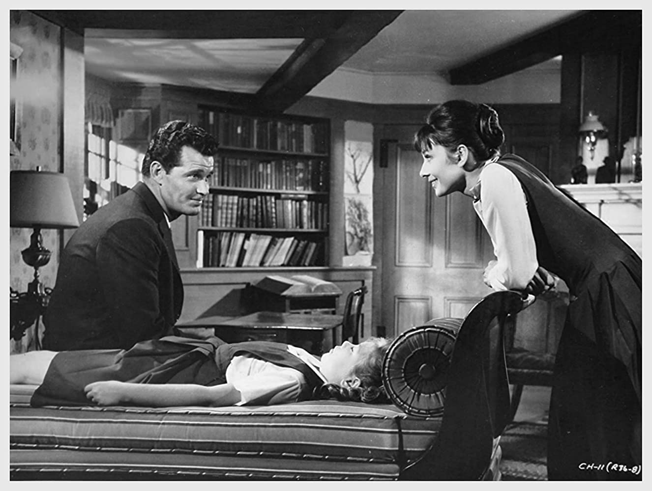 Audrey Hepburn and James Garner in The Children's Hour (1961)