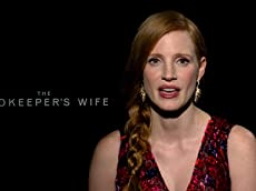 Jessica Chastain Introduces a Clip From 'The Zookeeper's Wife'