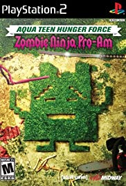 Aqua Teen Hunger Force Zombie Ninja Pro-Am Poster