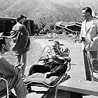 Joanne Dru, Otto Kruger, Edmond O'Brien, and Don Porter in 711 Ocean Drive (1950)