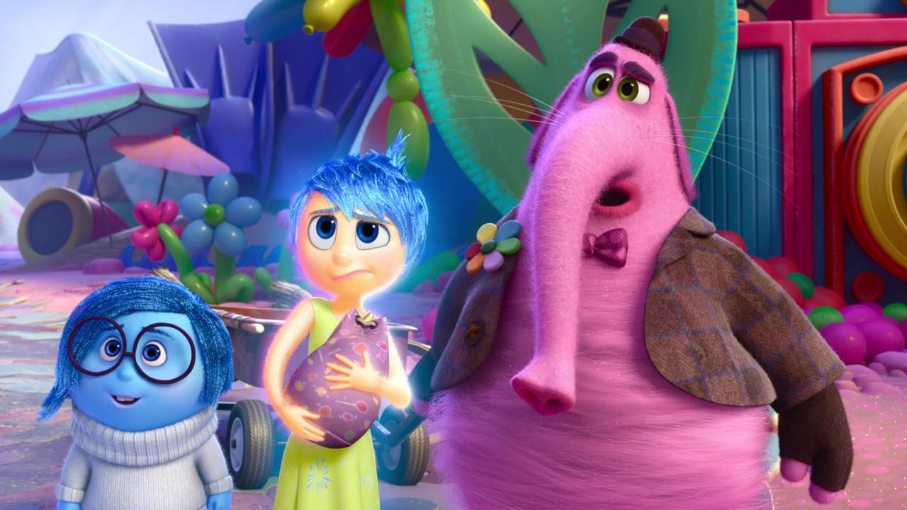 Richard Kind, Amy Poehler, and Phyllis Smith in Inside Out (2015)