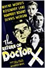Humphrey Bogart, Rosemary Lane, Dennis Morgan, and Wayne Morris in The Return of Doctor X (1939)