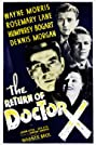 The Return of Doctor X (1939) Poster