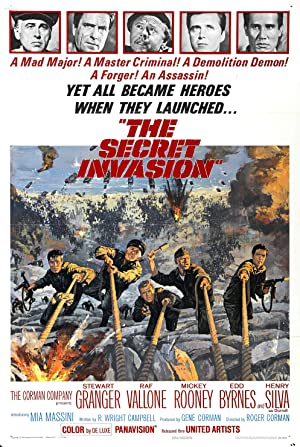 Movie The Secret Invasion (1964)