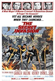 The Secret Invasion (1964) Poster - Movie Forum, Cast, Reviews