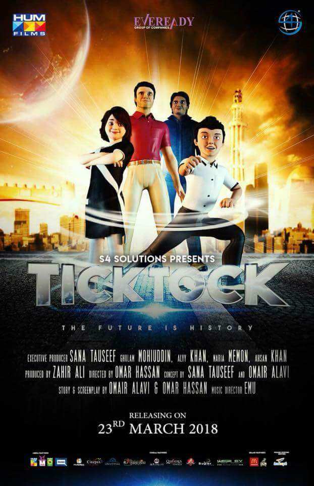 Tick Tock (2018) Urdu 720p HDTVRip x264 700MB