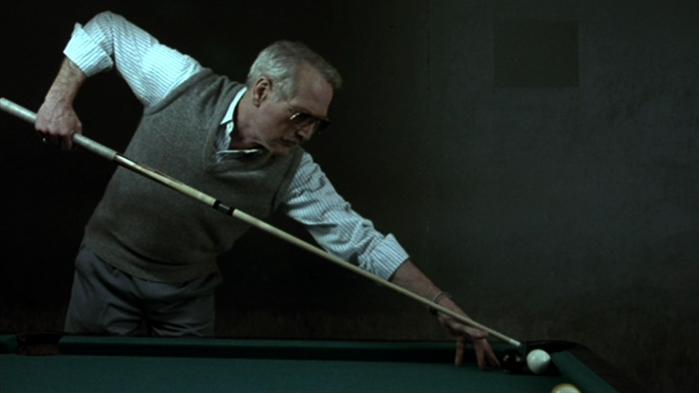 Paul Newman in The Color of Money 1986