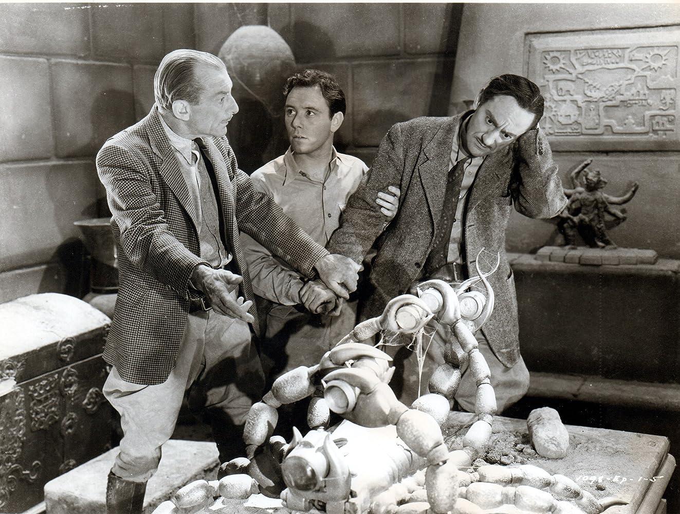 Frank Coghlan Jr., Robert Strange, and Harry Worth in Adventures of Captain Marvel (1941)