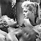 Rossana Podestà and Jacques Sernas in Helen of Troy (1956)