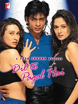 Download Dil To Pagal Hai (1997) Hindi Full Movie BluRay 480p [400MB] | 720p [1.5GB] | 1080p [3.6GB]