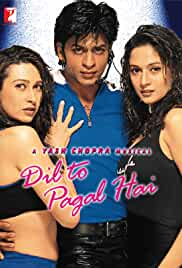 Dil To Pagal Hai (1997) HDRip Hindi Movie Watch Online Free