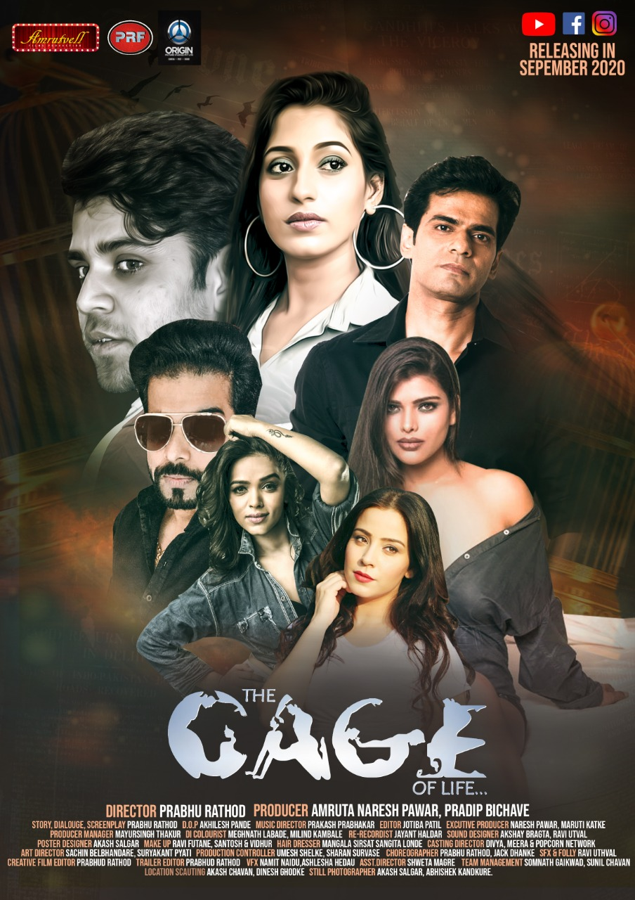 18+ The Cage of Life 2020 Hindi 720p HDRip 700MB x264 AAC