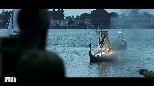 """""""Vikings"""" Bids Fiery Farewell to Travis Fimmel"""