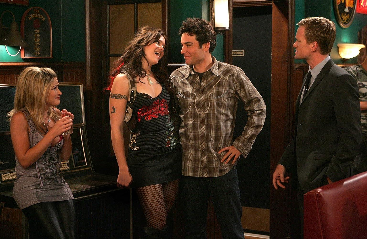 Neil Patrick Harris, Mandy Moore, Josh Radnor, and Amanda Loncar in How I Met Your Mother (2005)