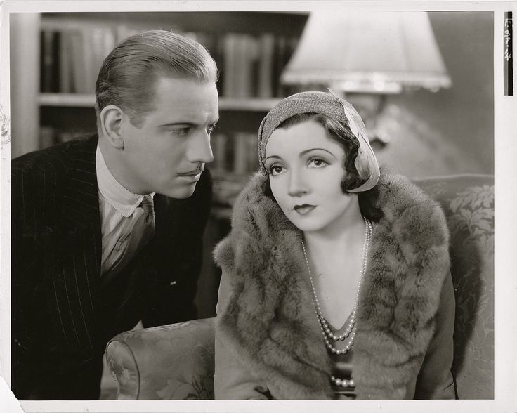 Claudette Colbert and Melvyn Douglas in The Wiser Sex (1932)