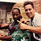 John Salvitti and Michael Woods in Lip pau hang tung (1992)
