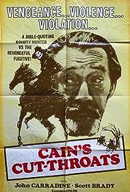 John Carradine in Cain's Cutthroats (1970)