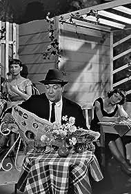 Annie Birgit Garde, Kjeld Petersen, and Lise Ringheim in Familiehaven (1956)