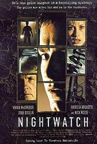 Patricia Arquette, Ewan McGregor, and Nick Nolte in Nightwatch (1997)