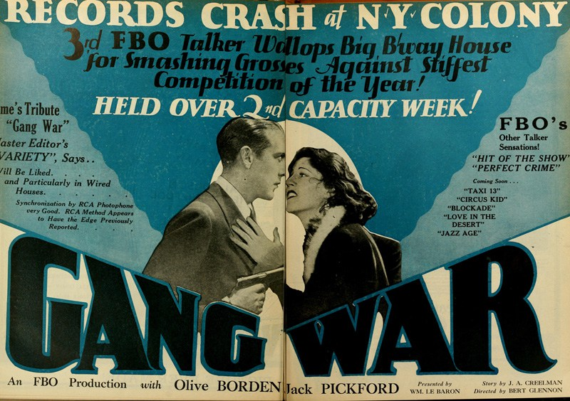 Gang War (1928) - IMDb
