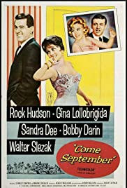 Come September (1961) Poster - Movie Forum, Cast, Reviews