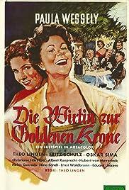 Die Wirtin zur Goldenen Krone Poster