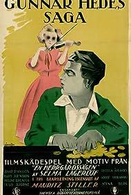 Einar Hanson and Mary Johnson in Gunnar Hedes saga (1923)