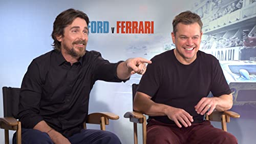 A Fist Fight Broke in Matt Damon & Christian Bale's 'Ford v Ferrari' Friendship